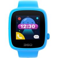 360儿童电话手表SE 2代 彩色触屏版 防丢防水GPS定位 儿童手机 W608 天空蓝