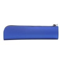 国誉(KOKUYO)日本进口学生办公便携收纳笔袋WILL STATIONERY ACTIC迷你型 蓝 F-WBF116B