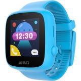 360儿童电话手表 彩色触屏版 防丢防水GPS定位 儿童手机 360儿童手表SE 2代 W608 智能彩屏电话手表 天空蓝