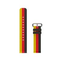 TicWatch 编制表带 世界杯限量版 德国 20mm 不支持Pro系列手表