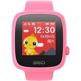 360儿童电话手表SE 2代 彩色触屏版 防丢防水GPS定位 儿童手机 W608 樱花粉