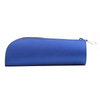 国誉(KOKUYO)日本进口简约铅笔袋/文具袋/收纳袋 WILL STATIONERY ACTIC标准型 蓝色 F-WBF115B
