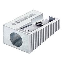 施德楼(STAEDTLER)卷笔刀金属全钢制转笔刀削笔刀笔刨 单孔51010