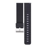 吉米有品(JIMI) 智能手表带 手表配件 商务运动时尚亲肤硅胶M1米腕表带 黑色