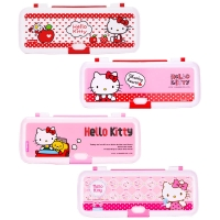 广博(GuangBo)两层文具盒/铅笔盒学习用品 凯蒂猫款式随机 单个装KT85054