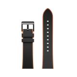 TicWatch Pro 智能手表表带 黑橙色皮表带