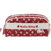广博(GuangBo)Pu大容量饺子型铅笔袋文具袋/学生用品 凯蒂猫KT85001