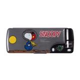 晨光(M&G)SSB90298 史努比多功能笔盒文具盒 黑色
