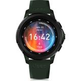 FERACE JEEP联名款4g全网通智能运动电话手表跑步游泳防水手环安卓苹果wifi 墨绿色