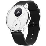 诺基亚(NOKIA) Steel HR 智能手表 金属表面 智能心率追踪 游泳防水 来电提醒 36mm 白色