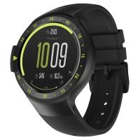 Ticwatch S运动智能手表 3G电话蓝牙wifi 男女防水支付GPS定位记步测心率兼容苹果安卓手机 峭壁黑