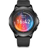FERACE JEEP联名款4g全网通智能运动电话手表跑步游泳防水手环安卓苹果wifi 黑色