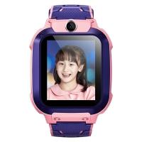 小天才儿童电话手表Z5q 360度防水GPS定位智能手表 学生儿童移动联通电信4G视频拍照手表手机男女孩青粉