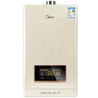 美的(Midea)燃气热水器16升智能随温感恒温(天然气)JSQ30-16HS6(T)【一价全包】