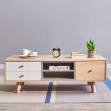 A家家具 茶几 彩色北欧储物茶几时尚简约小户型客厅家具 1.2米茶几 BC201