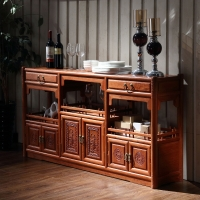粤顺 红木餐边柜 实木餐柜中式缅花家具茶水柜 M01