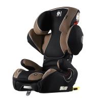 Kiddy/奇蒂宝宝汽车儿童安全座椅isofix接口德国品牌领航者fix(3岁-12岁)胡桃木