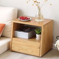 悠质家 床头柜 实木床头柜卧室家具简约床头柜储物柜B1705