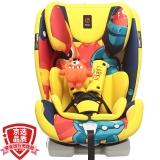 感恩(ganen)儿童安全座椅 larky系列半人马座宝宝座椅 9个月-12岁 星球黄