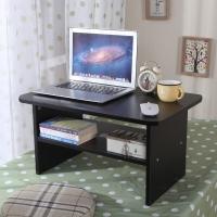 美达斯 炕几 安妮飘窗茶几 创意小户型边几咖啡桌书桌子C60 黑色 13229