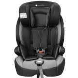 Zazababy儿童安全座椅9月-12岁isofix、latch双接口 2180Pro黑灰