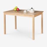 好事达餐桌 实木饭桌 简约小户型方型餐桌宜惠3364
