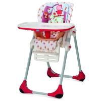 意大利chicco智高Polly宝丽多功能可调节宝宝餐椅可折叠便携婴儿座椅躺椅 (红色宝宝) CHIC06079074260170