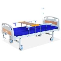 中伟护理床家用多功能医疗升降医用床医院孕妇老人病人床带床垫万向轮和便孔2米*0.9米*0.5米