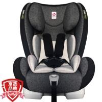 感恩(ganen)儿童安全座椅 larky系列半人马座宝宝座椅 9个月-12岁 至尊黑