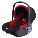 kiddy新生婴儿提篮德国奇蒂 红黑色佳宝巢 车载提篮式汽车儿童安全座椅