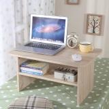 美达斯 边桌 安妮飘窗茶几 简易客厅角几茶桌实木质感C60 浅橡木色 13228