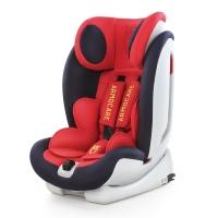 安默凯尔 汽车儿童安全座椅isofix硬接口 9个月-12岁宝宝座椅 超级盾 法拉利红