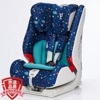 宝贝第一Babyfirst 宝宝汽车儿童安全座椅 isofix接口 海王盾舰队(星空蓝)9个月-12岁
