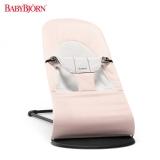 瑞典BABYBJORN Bouncer Balance 柔软婴儿摇椅安抚椅-针织粉灰