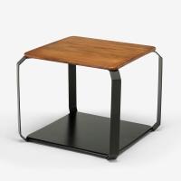 多瓦娜 边桌 现代简约客厅双层茶几桌 家用实木沙发小边几DWN-B004-2