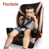 步达达(新品限量699)德国汽车儿童安全座椅 雅骑士D600 秀雅棕 9-36kg约9个月-12岁