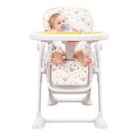 爱音(Aing)儿童餐椅 欧式多功能婴儿餐椅四合一宝宝餐椅可折叠可变摇椅JC008S纽扣熊