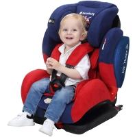ZazaBaby9个月-12岁汽车用儿童安全座椅婴儿车载isofix、latch双接口 铁王座英国队长