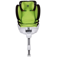 Kiddy/奇蒂 宝宝汽车儿童安全座椅 isofix硬接口 全能者SL(9个月-12岁) 苹果绿