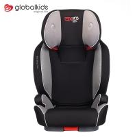 环球娃娃(GLOBALKIDS)宝宝汽车儿童安全座椅 Isofix接口 适合约3-12岁宝宝-航海家1033-H 黑色