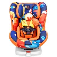 感恩 ganen 依雷拖安全座椅汽车用儿童安全座椅0-4岁isofix接口  阳光橙
