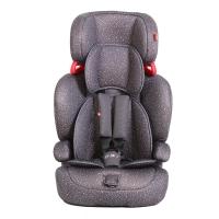 好孩子(Goodbaby)欧标 吸能式可拆分儿童汽车安全座椅CS618-N004 灰色满天星 (9个月-12岁)