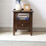 华谊(HUAYI)床头柜 橡木床头桌简约床边柜子  7C6503101(预售9月10日)