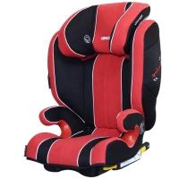 瑞凯威RECARO儿童汽车安全座椅ISOFIX硬接口德国原装进口莫扎特2代3-12岁赛车红定制款