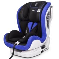 安默凯尔 汽车儿童安全座椅isofix硬接口 9个月-12岁宝宝座椅 赛道勇士gt2 天空蓝