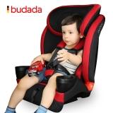步达达(新品限量699)德国汽车儿童安全座椅 雅骑士D600 高雅红 9-36kg约9个月-12岁
