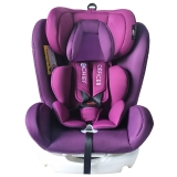 首席官(CHIEF OFFICER)梦想家 汽车儿童安全座椅0-12岁双向可躺isofix硬接口 紫韵花开