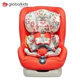 环球娃娃(GLOBALKIDS)宝宝汽车儿童安全座椅 正反向安装 适合约0-4岁宝宝-月光宝贝1028-H 橘色