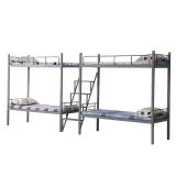 奈高钢制铁床连体双层床高低床学生床员工床上下铺监狱床部队床工地床 款8