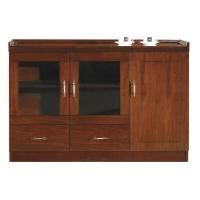 华旦 ZM-C15中式实木茶水柜餐厅碗柜厨房餐边柜
